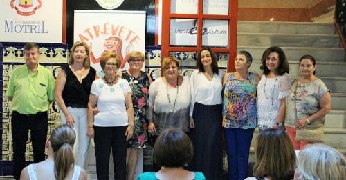 Foto de familia con las Asociaciones Pertenecientes al Proyecto Atrévete