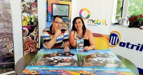 Kiko Rodríguez y Alicia Crespo en rueda de prensa en Motril