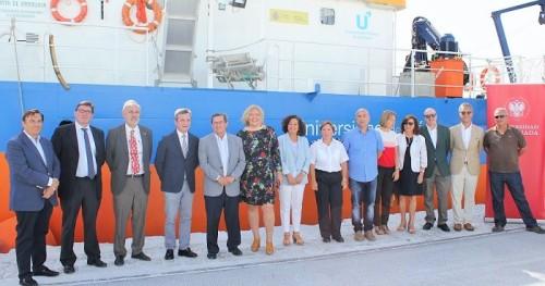 Motril acoge la primera expedición del buque oceanográfico UCADIZ dentro del Campus de Excelencia del Mar 'CEI·MAR'.jpg