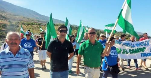 Presa de Rules 2014_Marcha por el Agua_Juan Carlos Benavides