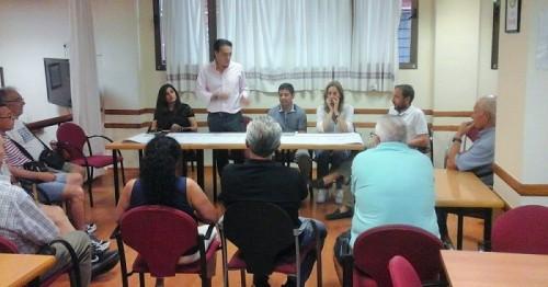 Urbanismo da respuesta a las dudas y demandas de los vecinos sobre las obras de la calle Ancha
