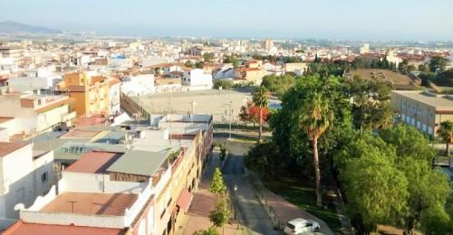 Vista del centro de Motril