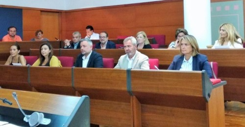 Concejales del PP en el pleno del Ayto. de Motril