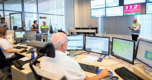 El 112 Granada gestiona 37.690 emergencias el primer semestre del año