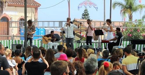 El flamenco de Manuel Cortés concluye los conciertos de la Feria de Día con pasión y arte por todos los costados.jpg