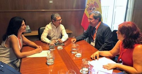 Entrena pide al secretario de Estado de Medio Ambiente un compromiso con los proyectos pendientes de la provincia