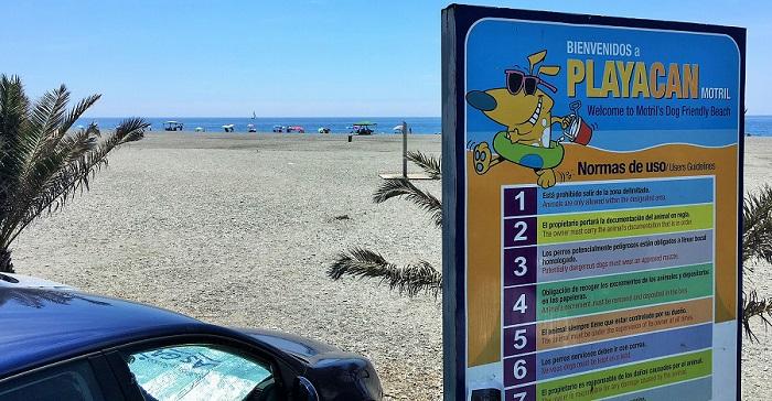 La playa para perros de Motril se convierte en uno de los recursos turísticos con más aceptación.jpg