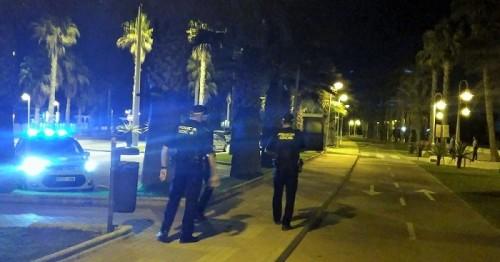 Policía Local de Motril en control del botellón