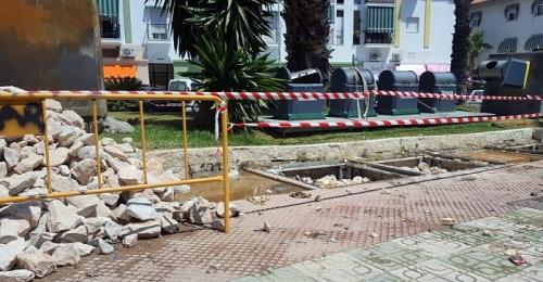 Salobreña retira los contenedores soterrados del municipio