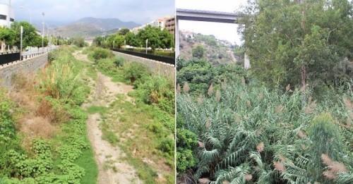 Cauces de los ríos Verde y Jate en el municipio de Almuñécar.jpg