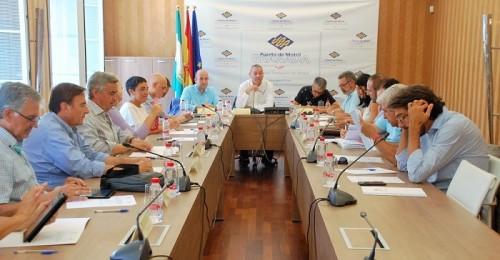 Consejo de Administración del Puerto de Motril, esta mañana.jpg