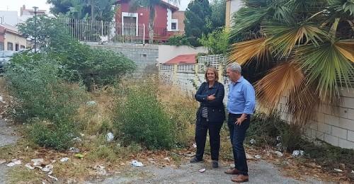 El PP pide a Almón que lleve a cabo la limpieza integral de los solares abandonados que hay en Motril
