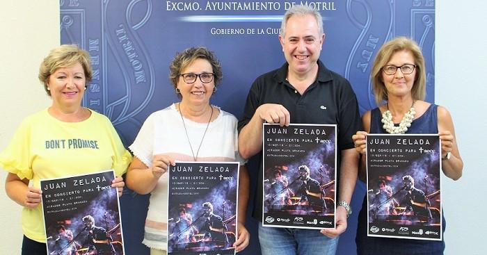 La AECC organiza una gala solidaria el próximo 15 de septiembre en la que actuará el cantante Juan Zelada.jpg