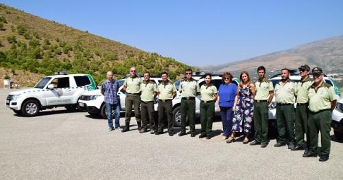 La Junta entrega seis nuevos vehículos a los agentes de Medio Ambiente.jpg