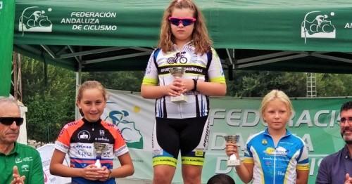 Media docena de podios para los ciclistas sexitanos en el Circuito Provincial celebrado en Armilla.jpg