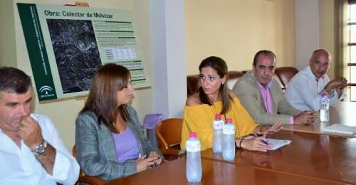 Medio Ambiente dará fin al problema de vertidos en Molvízar con una actuación cercana a los 2 millones de euros.jpg