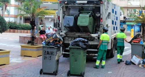 Recogida de basura en Almuñécar
