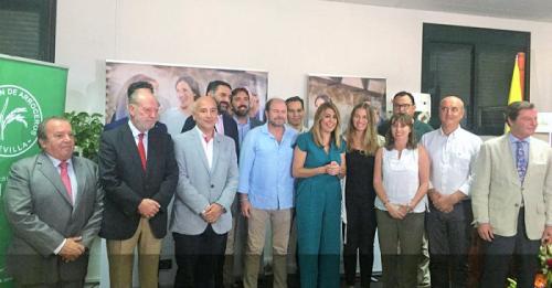 Susana Díaz presenta la campaña promocional de los diez itinerarios de 'Andalucía, Paisajes con Sabor_, con una inversión de 270.000 euros