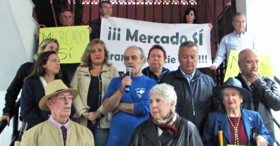 CA, PSOE, Cs y Podemos, unidos para salvar el mercado de Almuñécar