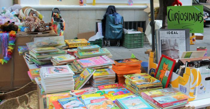 Cáritas recauda más de 900 euros en la IV Feria Benéfica del Libro Usado