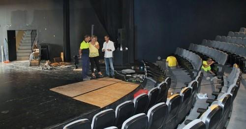 Da comienzo la reforma integral del Auditorio de la Villa que se prolongará durante un mes.jpg
