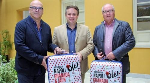 'Andalucía Directo' muestra mañana la promoción turística de Granada y Jaén en Nápoles.jpg