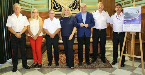 "El comité organizador ultima la llegada del Juan Carlos I ""buque insignia de la Armada Española"", 12-14 de octubre.jpg"