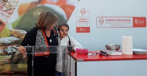 El stand de la Diputación en Fermasa ofrece un showcooking con la ganadora de Masterchef Junior 5.jpg