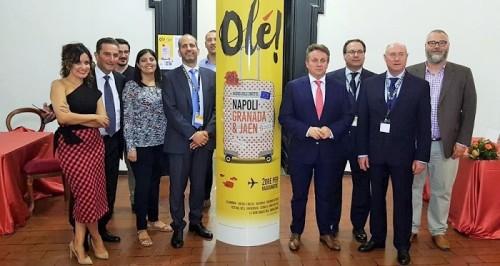 Granada y Jaén refuerzan su promoción como destino cultural y turístico tras la campaña desarrollada en Nápoles.jpg