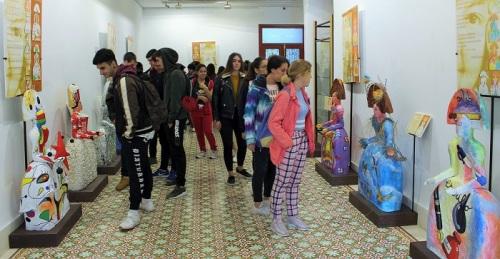 La Casa de la Condesa de Torre Isabel acoge la exposición Menineando con Gloria