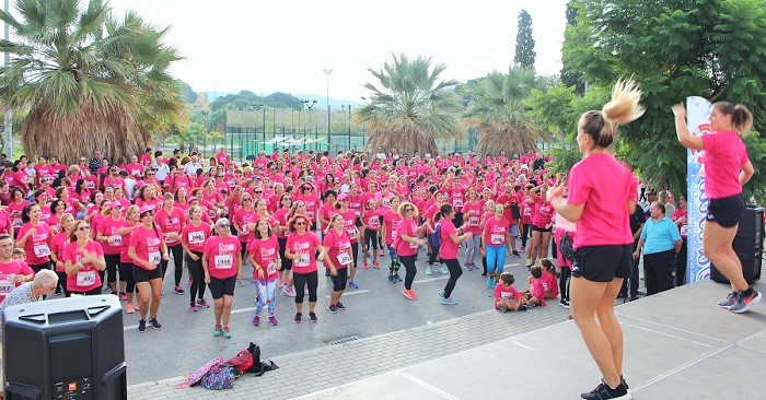 La II Carrera de la Mujer reúne en Motril a 1.200 personas solidarias en favor de la lucha contra el cáncer de mama