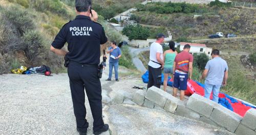 Muere en Almuñécar un ciudadano alemán que practicaba el parapente