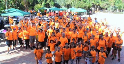 Unas 300 personas participaron en la marcha solidaria de Alojha.png