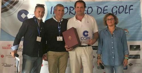 El II Torneo Cope de Golf reúne a cien jugadores en el campo de Los Moriscos