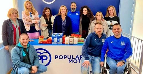 El PP colabora con Run&Run Motril en su recogida de alimentos a favor del comedor social Jesús Abandonado