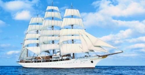 El sábado está previsto atraque en el Puerto de Motril el lujoso crucero Sea Cloud y su gemelo Sea Cloud II