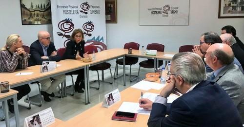 """Mar Sánchez apuesta por un """"turismo de calidad"""" en la provincia de Granada que prime """"la excelencia y la sostenibilidad"""""""