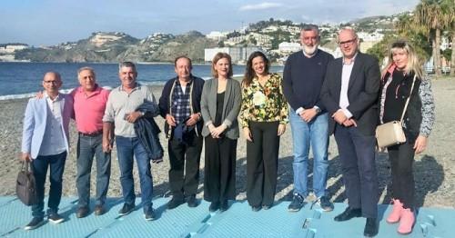 Mar Sánchez visita Almuñécar