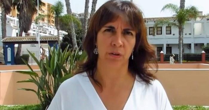 Olvido de la Rosa, diputada provincial de Bienestar Social.jpg