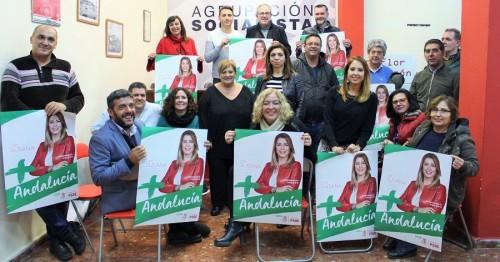 PSOE de Motril, inicio de campaña para las andaluzas