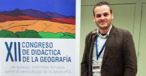 Ulises Najarro, profesor sexitano de Geografía e Historia