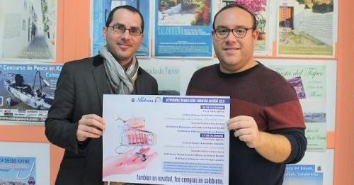 Ayuntamiento y comerciantes lanzan una campaña para fomentar las compras en Salobreña durante la Navidad