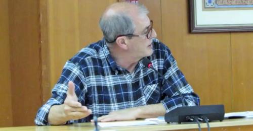 Fermin Tejero, portavoz de IU en el Ayuntamiento de Almuñécar