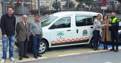 La Junta entrega un vehículo a la agrupación de voluntarios de Protección Civil de Gualchos - Castell de Ferro