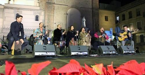 La Navidad Flamenca llena de la plaza de España de villancicos y arte flamenco.jpg