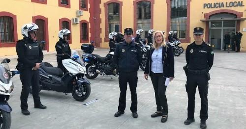 La Policía Local de Motril renueva y amplía su parque de motocicletas.jpg