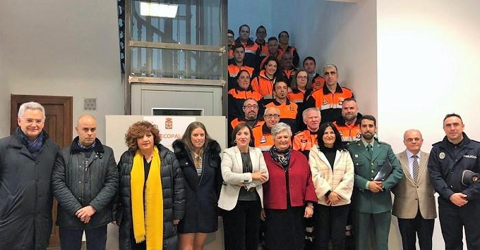 La agrupación de protección civil de Órgiva estrena nueva sede