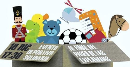 La jornada 'Ningún niño sin juguete_ vuelve este miércoles 19 al Paseo de las Explanadas