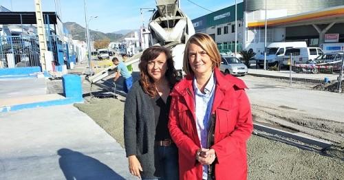 Luisa Mª García Chamorro visita las obras que se están ejecutando en el Polígono del Vadillo.jpg