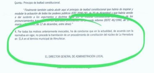 Respuesta de la Junta Andalucía sobre la ELA de La Herradura.jpg